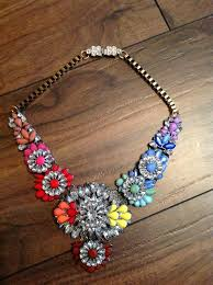 multi statement necklace images Nuala multi coloured statement necklace ciaras closet jpg
