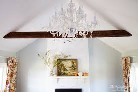 How To Update Brick Fireplace by Painting A Fireplace The Heathered Nest