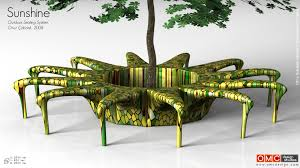 outdoor sitting sunshine outdoor seating system design by omc
