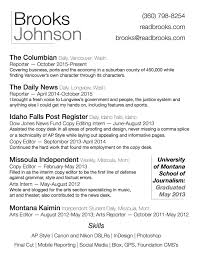 Journalist Resume Sample by Filled Out Resume Examples Resume For Your Job Application