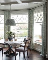 Kitchen Bay Window Curtains by Swag Valances For Bay Windows Swags And Jabots In A Bay Window