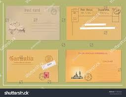 set old post envelopes stock vector 113909233 shutterstock