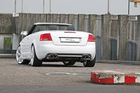 audi a4 tuner audi a4 2 0 tfsi convertible tuned to 260hp by sport wheels