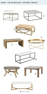 Affordable Coffee Tables Neal Gold Leaf And White Marble Coffee Table Things Pinterest