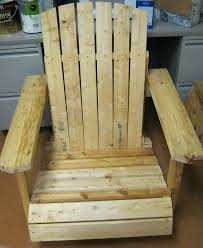 wood adirondack chair made from recycled materials ser