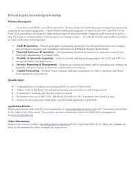 cover letter sample for accounting internship search