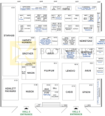 Expo Floor Plan by Floor Plan Map Hall 6 Singapore Expo Comex 2013 Comex 2013 Price