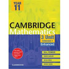 9781107633322 cambridge 3 unit mathematics year 11 enhanced