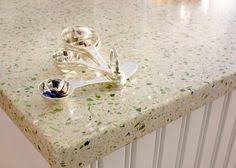 Composite Countertops Kitchen - recycled glass countertops sustainable countertops terrazzo