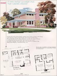 e home plans mid century modern house plans 1955 national plan service plan
