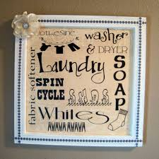Wall Decor For Laundry Room by Laundry Room Signs Wall Decor Shenra Com