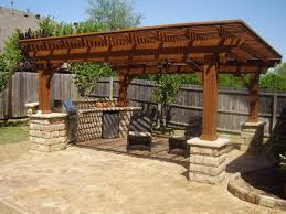 Pergola On Concrete Patio by Backyard Patio Designs With Pool Ideas On Budget Outdoor Fire Pit