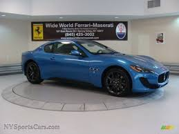maserati blue car picker blue maserati granturismo sport