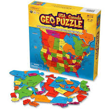 map of canada puzzle geo puzzle usa canada 69 pc map puzzle educational toys planet