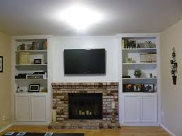 Fireplace Mantels With Bookcases Wall Units Amazing Built In Entertainment Center Around Fireplace