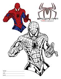 spiderman spiderman coloring pages kids01 spiderman coloring
