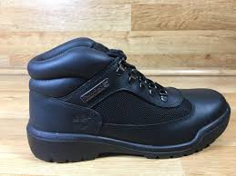 s outdoor boots in size 12 timberland field boot mens 13061 black leather waterproof boots