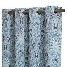 Blue Paisley Curtains Blue Paisley Curtains Drapes You Ll Wayfair