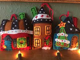 felt christmas decorations sew sensational