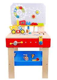 Boys Wooden Tool Bench Pidoko Kids Wooden Workbench With Tools And Accessories Pretend
