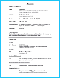 Resume Job Objective Samples by One Of Recommended Banking Resume Examples To Learn