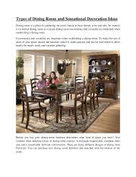 Types Of Dining Room Tables Types Of Dining Room And Sensational Decoration Ideas 1 638 Jpg Cb 1378710129