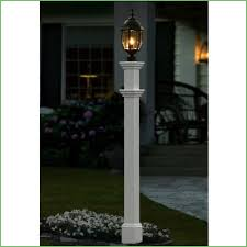 lighting lamp post lighting i need 3 round white composite posts