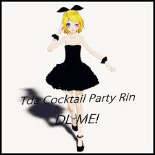 cocktail party cartoon tda cocktail party rin dl by all1108all on deviantart