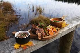 outdoor cuisine unforgettable outdoor catering at the metsarestoran estonia
