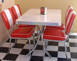 50s style kitchen table retro american 50s style diner sets a selection of american diner
