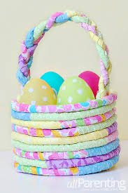 Decorate Easter Basket Ideas by Diy Fabric Easter Basket
