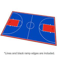 backyard basketball court flooring modutile outdoor basketball court flooring full court kit 46ft x