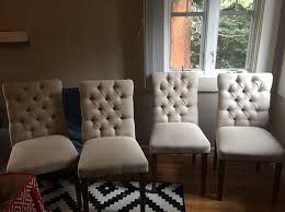 Brookline Tufted Dining Chair Set Of 4 Brookline Tufted Dining Chairs Furniture In Palo Alto