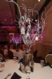 sweet 16 centerpieces centerpieces made of manzanita branches crystals orchids and