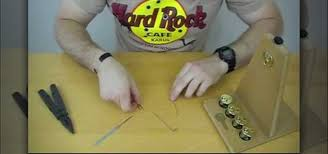 wafer lock picking tutorial how to make a lock pick out of a paper clip and multi tool lock