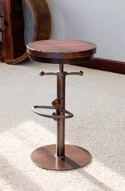 Adjustable Height Chairs Industrial Bar Stool Adjustable Height Walnut Creek Furniture