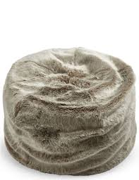 faux fur bean bag bluewater 150 00