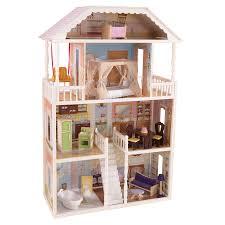 shop kidkraft savannah dollhouse at lowes com