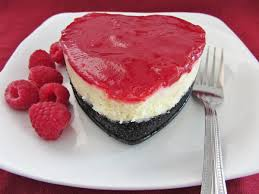 mini heart shaped raspberry white chocolate cheesecake once upon