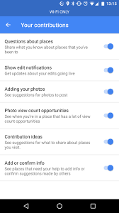 turn off notifications of google maps requests for information