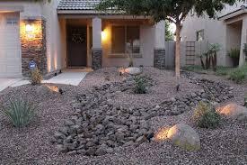 Desert Rock Garden Ideas Low Maintenance Front Yard Landscaping Front Yard Desert