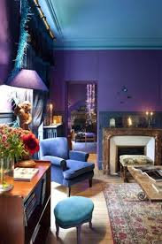simple purple colour schemes for living rooms decorating ideas