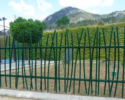 garden fence bar metal fr 14 indusmetal torres
