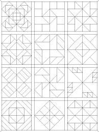 Quilt Pattern Coloring Pages Funycoloring Quilt Block Coloring Pages