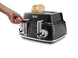 Cheapest Delonghi Toaster Buy Delonghi Scultura Ctz4003bk 4 Slice Toaster Black Scultura