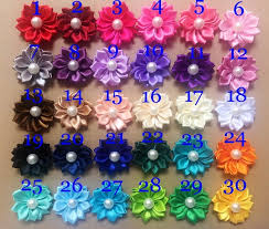 wholesale hair accessories aliexpress buy hot sale hair flowers accessories satin