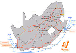 South Africa Political Map by This Is What South Africa U0027s Internet Actually Looks Like