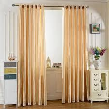 rideau pour fenetre chambre rideau en fenêtre blackout en tissu de satin beige pour chambre à