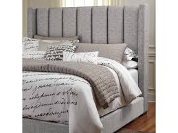 signature design by ashley kasidon queen upholstered headboard in