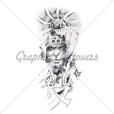 big warrior viking tattoo sketch photo 2 photo pictures and